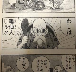 亀仙人「じゃ」!!