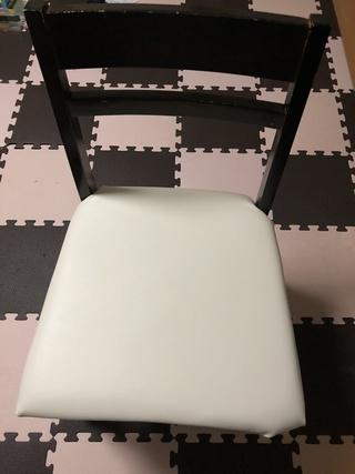 椅子の座面の修復