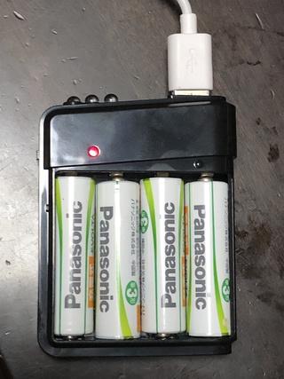 microUSB Type-BからLightningに変換するアダプタ